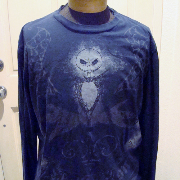 Disney Other - Nightmare Before Christmas Long Sleeve T-Shirt XL